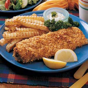 Oven Fish 'n' Chips Recipe
