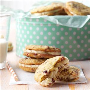 Cranberry Orange Sandwich Cookies Recipe