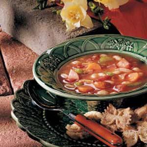 Tomato Bean Soup Recipe