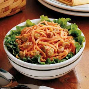 Carrot Raisin Salad for Two Recipe