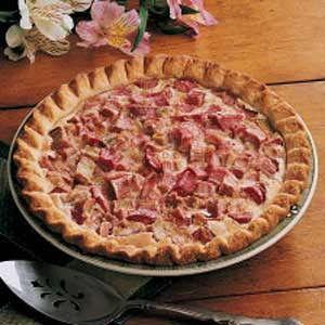 Best Rhubarb Pie