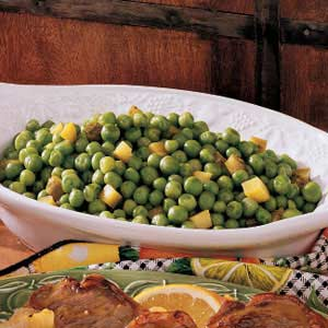 Dilly Sweet Peas Recipe