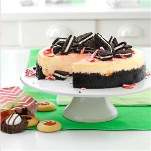 Crushed Peppermint Cheesecake Recipe