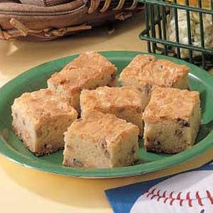 White Brownies Recipe