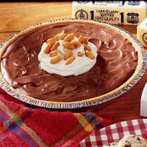 Chocolate Peanut Dream Pie Recipe