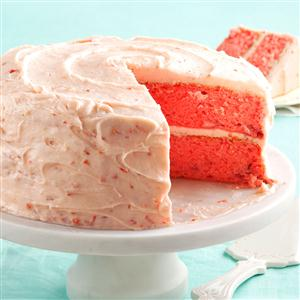Watch Us Make: Mamaw Emily's Strawberry Cake