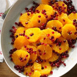 Orange Pomegranate Salad with Honey Recipe