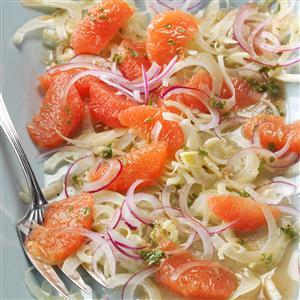 Grapefruit & Fennel Salad with Mint Vinaigrette Recipe