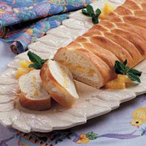 Pineapple Cheese Braid Recipe