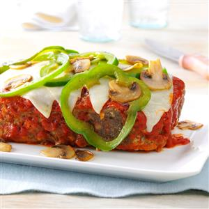 Mozzarella Meat Loaf Recipe