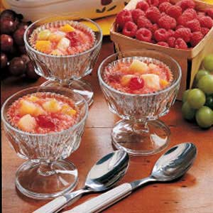 Frozen Fruit Cups Recipe