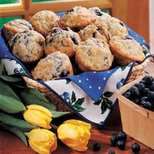 Pat's Blueberry Muffins Recipe