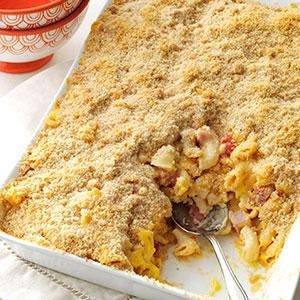Deluxe Baked Macaroni and Cheese Recipe