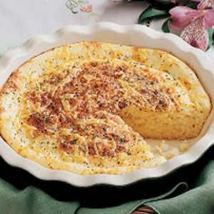 Onion Cheese Custard Bread Recipe
