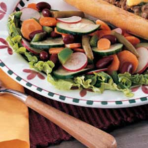Easy Veggie Salad Recipe
