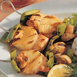 Light Chicken Kabobs Recipe