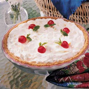 Fluffy Pineapple Pie Recipe