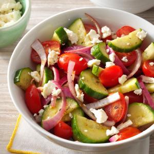 Balsamic Cucumber Salad Recipe