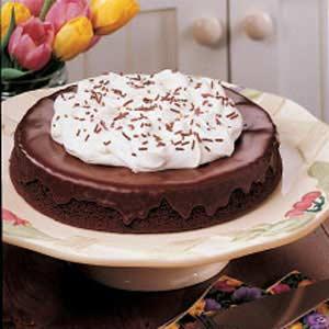 Double Chocolate Torte Recipe