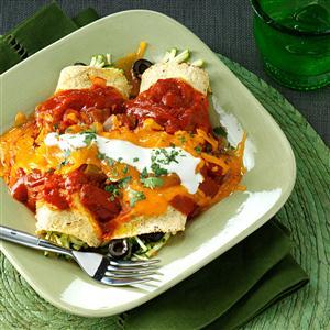 Zucchini Enchiladas Recipe