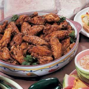 Hawaiian Chicken Wings