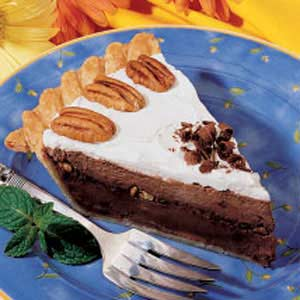 Fudgy Pecan Pie