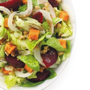 Roasted Beet and Sweet Potato Salad Recipe