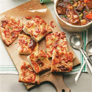 Tomato-Herb Focaccia Recipe