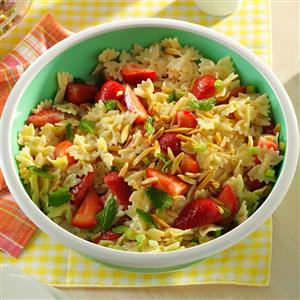 Strawberry Pasta Salad Recipe