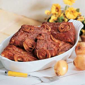 Tangy Ribs and Onions Recipe