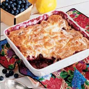 Blueberry Pudding Cake Recipe