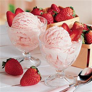 Strawberry ice cream taste of home best strawberry ice cream ccuart Choice Image