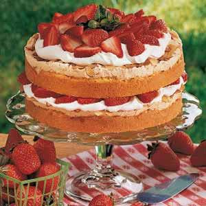 Special Strawberry Torte Recipe
