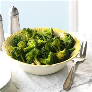 Dill-Marinated Broccoli Recipe