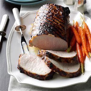 Grilled Dijon Pork Roast Recipe