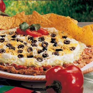 Taco Dip Platter Recipe