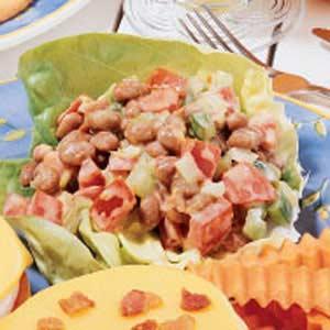 Pork 'n' Bean Salad Recipe