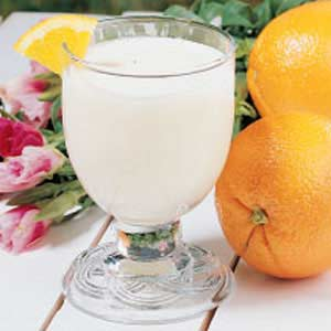 Frothy Orange Soda Recipe