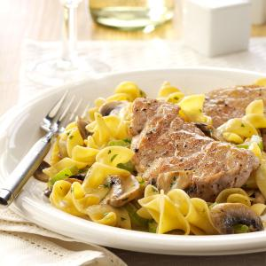 Pork Scallopini with Mushrooms Recipe