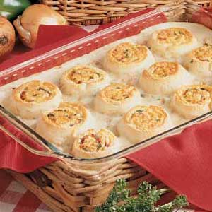 Tuna Bake with Cheese Swirls