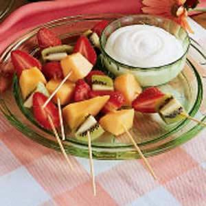 Fruit on a Stick Recipe