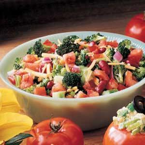Crisscross Salad Recipe