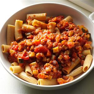 Mushroom Bolognese with Whole Wheat Pasta Recipe