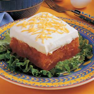 Frosted Gelatin Salad Recipe