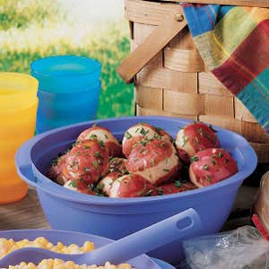 Slow-Cooked Lemon Red Potatoes