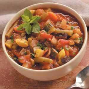 Summer's Bounty Soup Recipe