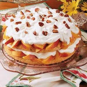 Peach Shortcake Recipe