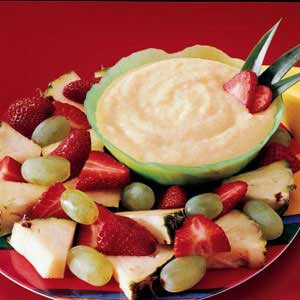 Coconut Fruit Dip Recipe