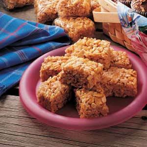 Chewy Peanut Bars Recipe
