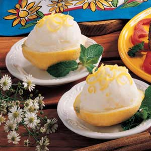 Refreshing Lemon Cream Recipe